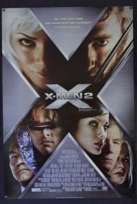 X-Men 2 Poster Original Australian One Sheet Style B 2003 Hugh Jackman