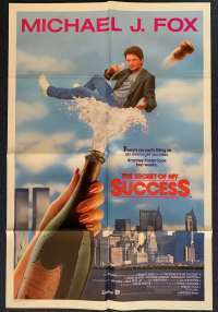 The Secret Of My Success One Sheet Poster 1987 Michael J Fox Back To The Future