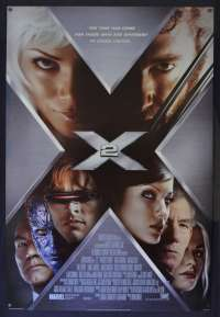 X-Men 2 Poster Original USA International One Sheet Style B 2003 Hugh Jackman