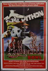 Monty Python Live At The Hollywood Bowl Poster One Sheet John Cleese Terry Gilliam