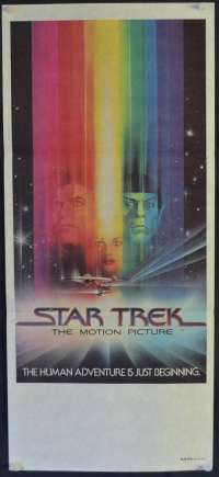 Star Trek: The Motion Picture 1979 Daybill movie poster Rare Advance art
