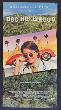 Doc Hollywood Poster Original Daybill 1991 Michael J Fox Back To The Future