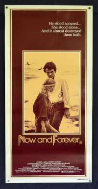Now And Forever Poster Original Daybill Rolled NEVER Folded 1983 Robert Coleby