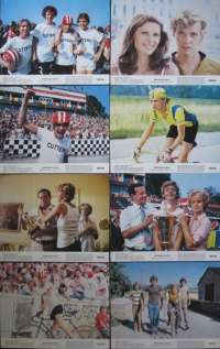 Breaking Away 1979 Lobby Card Set 11x14 Dennis Christopher Dennis Quaid Cycling