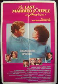 Last Married Couple In America, The One Sheet Australian Movie poster