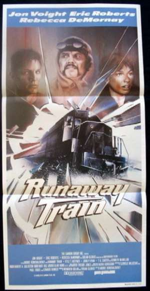 Runaway Train Daybill Movie poster