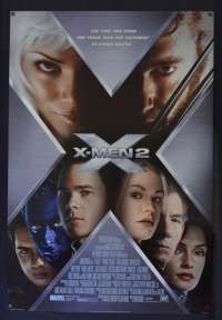 X-Men 2 Poster Original USA International One Sheet Style C 2003 Hugh Jackman
