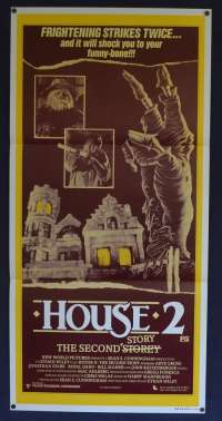 House 2: The Second Story 1987 Daybill movie poster Horror Arye Gross