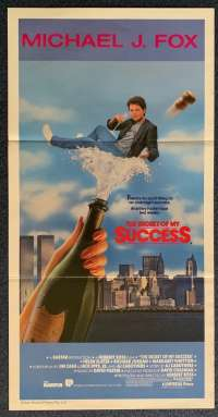 The Secret Of My Success Daybill Poster 1987 Michael J Fox Back To The Future