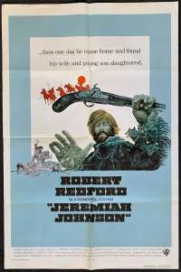Jeremiah Johnson Poster Original USA One Sheet International 1972 Robert Redford
