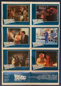 Back To The Future Poster Original Photosheet 1985 Michael J Fox Drew Struzan Art