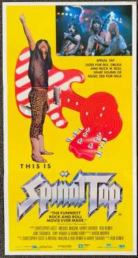 This Is Spinal Tap Poster Original Daybill 1984 Rob Reiner Rockumentary