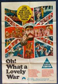 Oh What A Lovely War Poster Original One Sheet 1969 Kenneth Moore