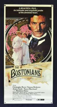 The Bostonians Poster Original Daybill No Folds Rolled Christopher Reeve
