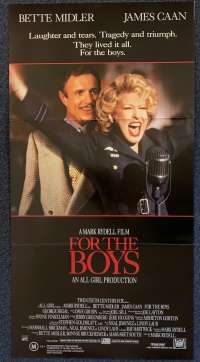 For The Boys Poster Original Daybill 1991 Bette Midler James Caan George Segal