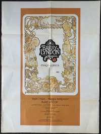 Barry Lyndon Movie Poster Original One Sheet 1975 Rare Art Stanley Kubrick