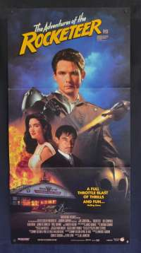 The Adventures Of The Rocketeer Movie Poster Original Daybill Timothy Dalton