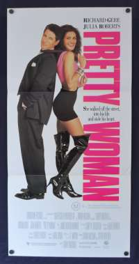 Pretty Woman Poster Original Daybill 1990 Richard Gere Julia Roberts Comedy